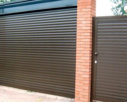роллетные гаражные ворота цена